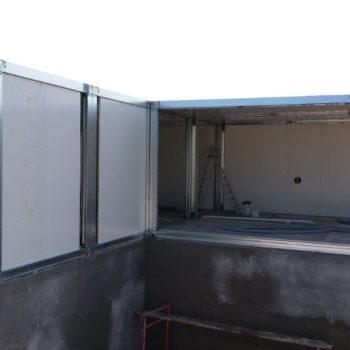 Construction maison modulaire avec fondation 1