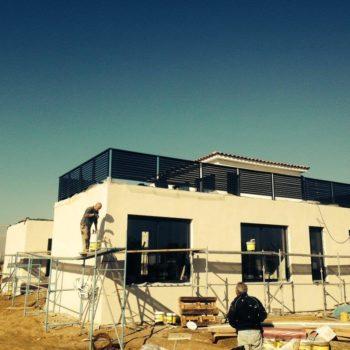 Construction maison modulaire avec fondation 11