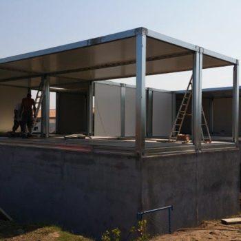 Construction maison modulaire avec fondation 3