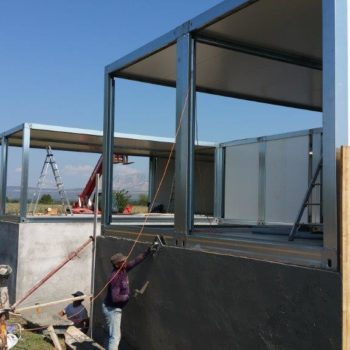 Construction maison modulaire avec fondation 6
