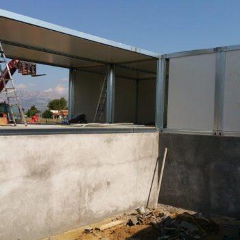 Construction maison modulaire avec fondation 7