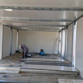 Construction maison modulaire avec fondation 8
