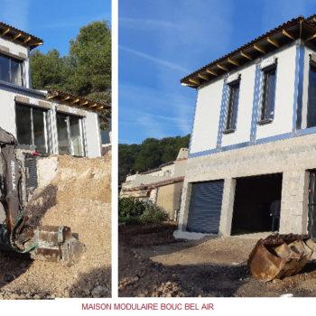 Construction maison modulaire à BOUC BEL AIR en région PACA