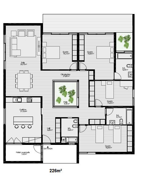 plan de maison ossature metallique