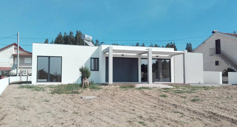 Maison à ossature métallique en PACA