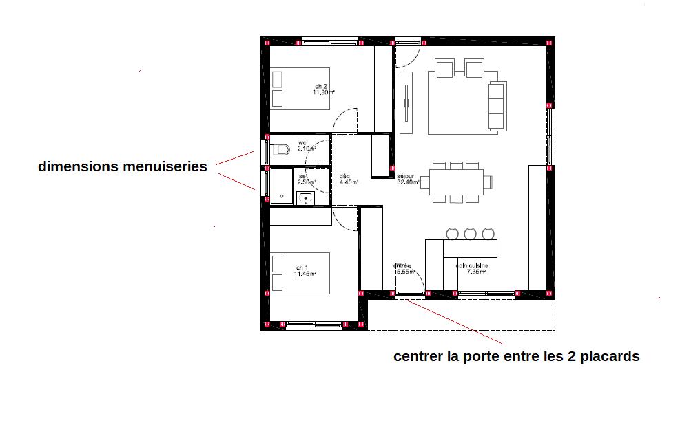 construction de maison ossature m tallique maisons number one. Black Bedroom Furniture Sets. Home Design Ideas