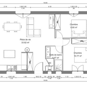 plan maison modulaire st bonnet