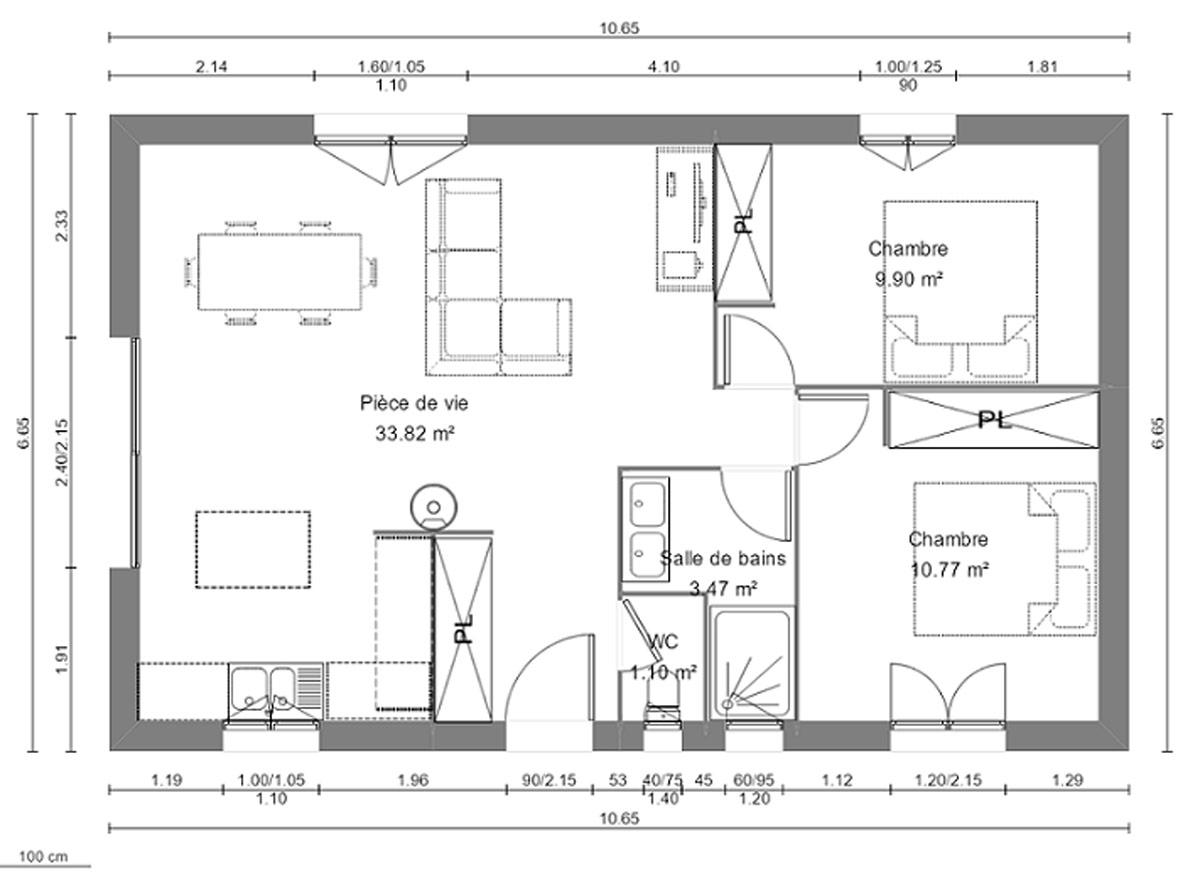 Plan De Maison Plan Maison Prefabriquee Plans 12 1