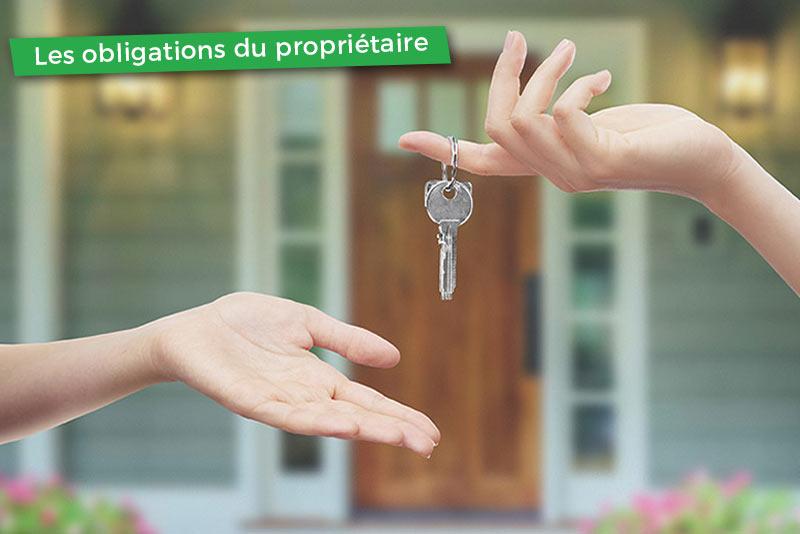 Quelles sont les obligations du propriétaire envers son locataire ?