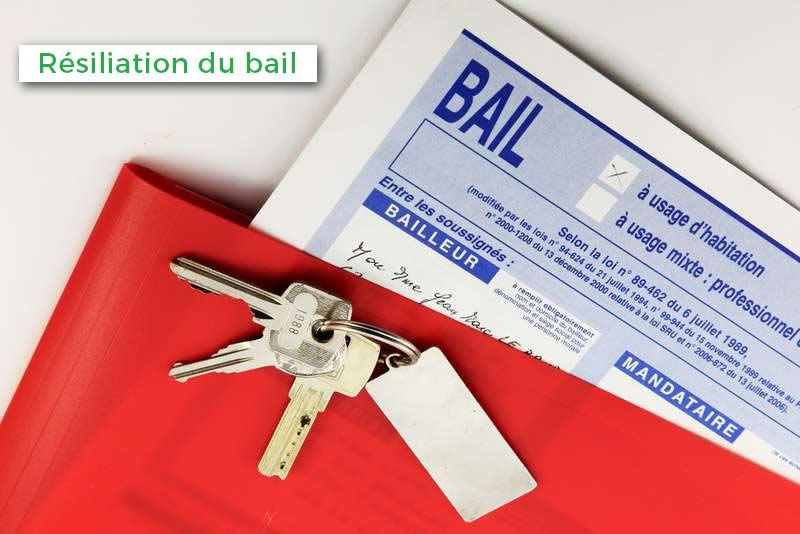 Quelles sont les procédures à suivre par le locataire pour une résiliation de bail ?