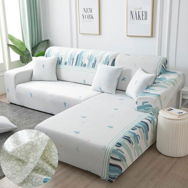 Housse canapé d'angle